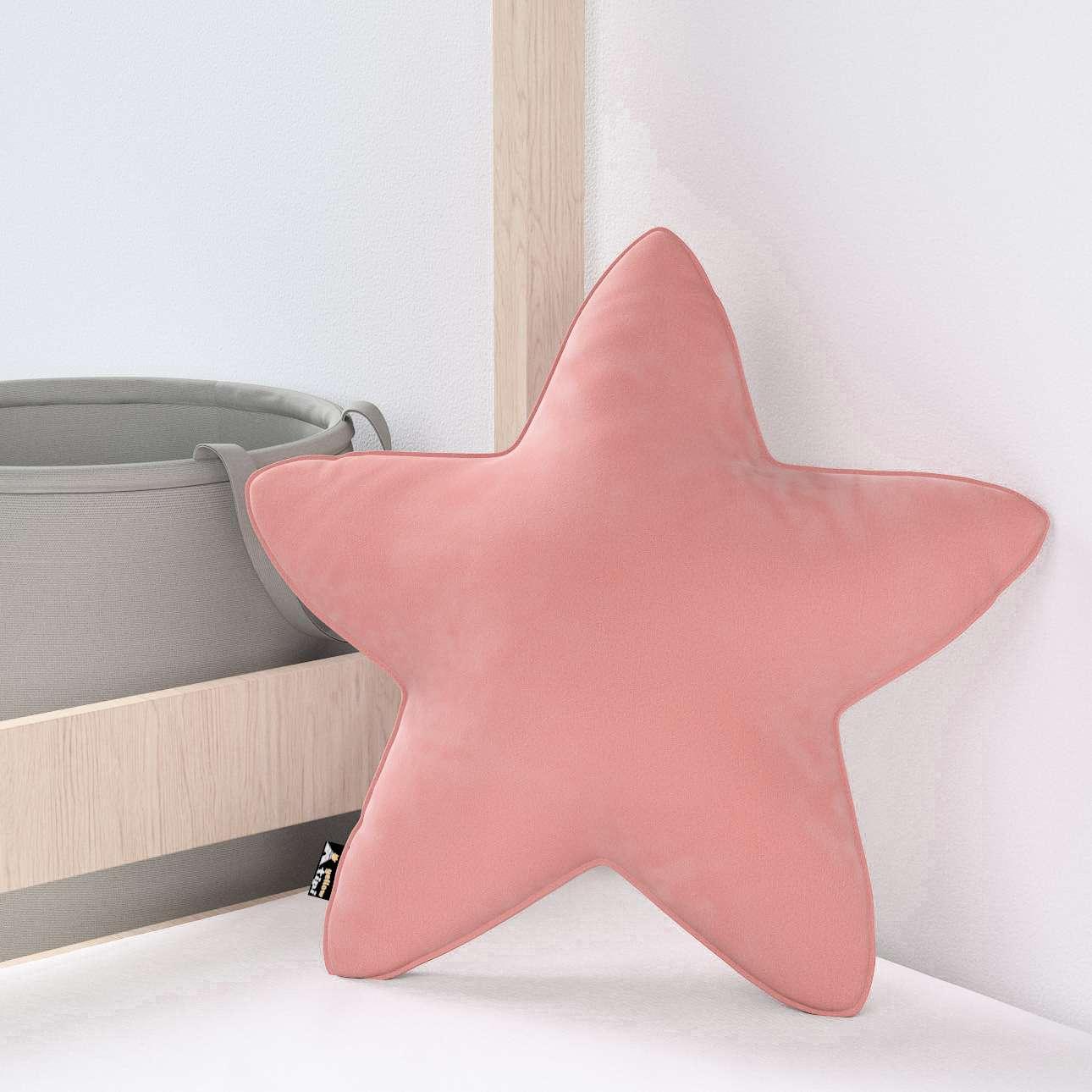 Lucky Star pagalvėlė kolekcijoje Posh Velvet, audinys: 704-30