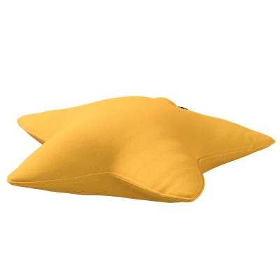Poduszka Lucky Star 133-40 słoneczny żółty Kolekcja Happiness