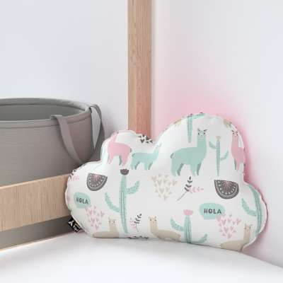 Soft Cloud pillow with minky in collection Magic Collection, fabric: 500-01