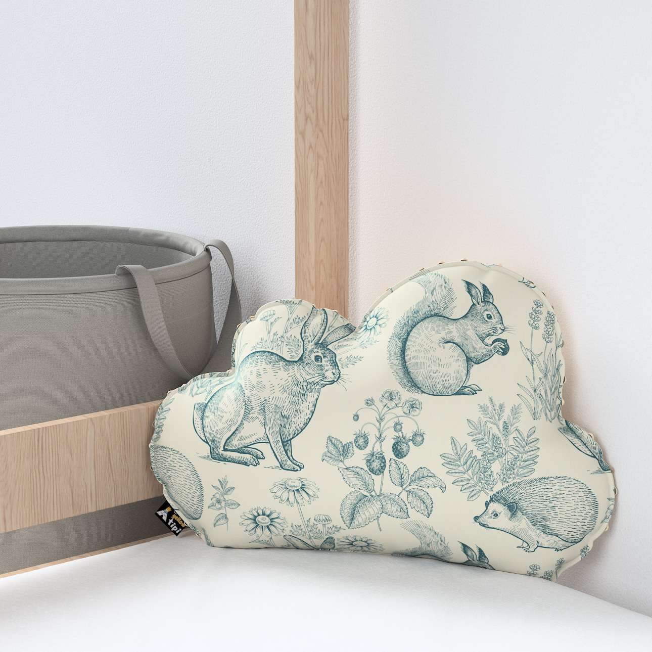 Soft Cloud pillow with minky in collection Magic Collection, fabric: 500-04