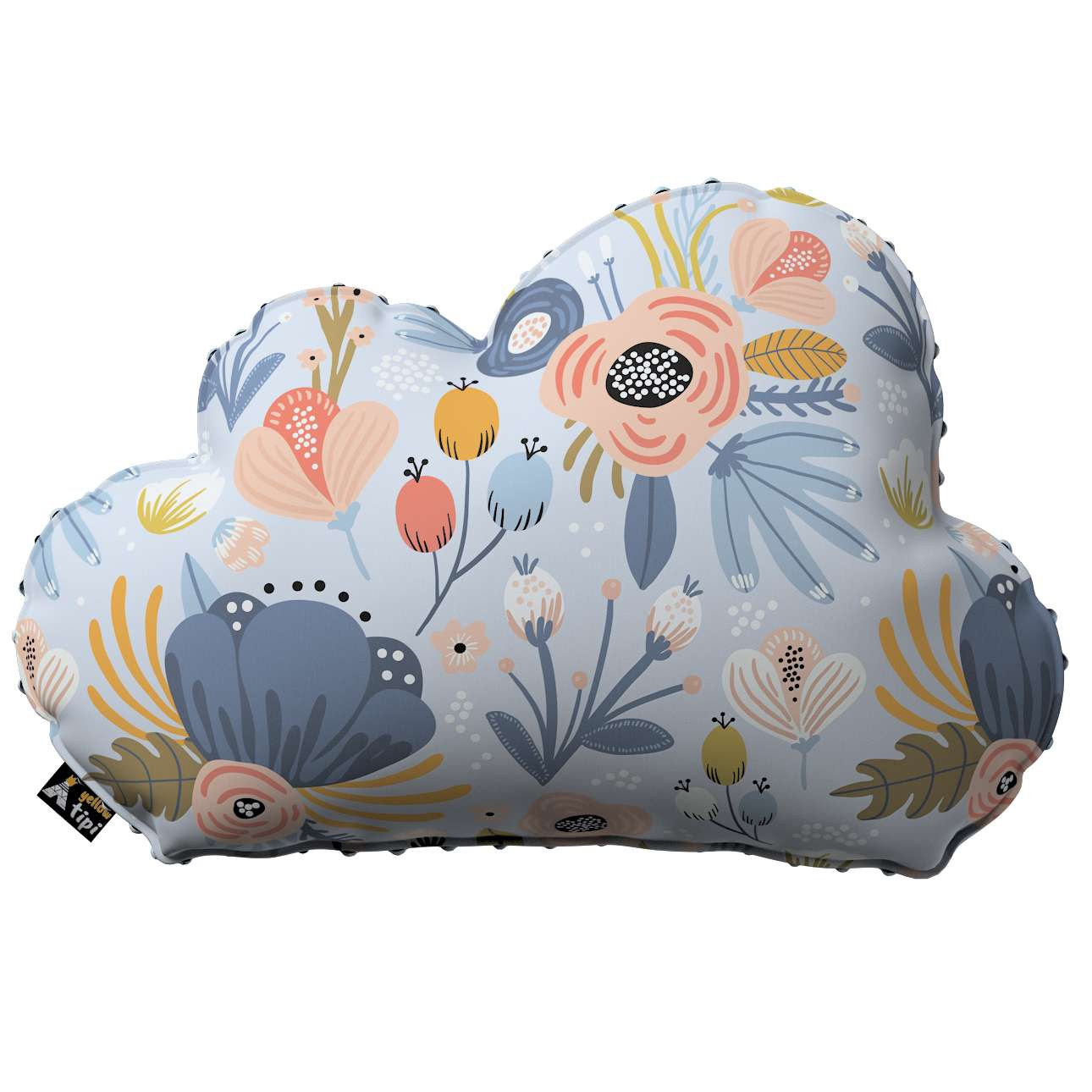 Soft Cloud pillow with minky in collection Magic Collection, fabric: 500-05