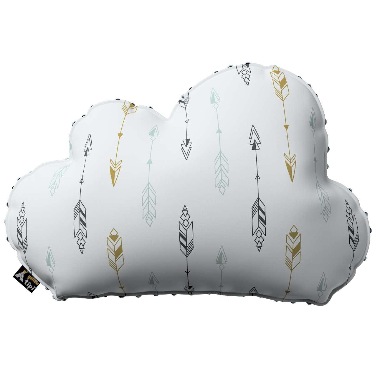 Kissen Soft Cloud aus Minky von der Kollektion Magic Collection, Stoff: 500-07