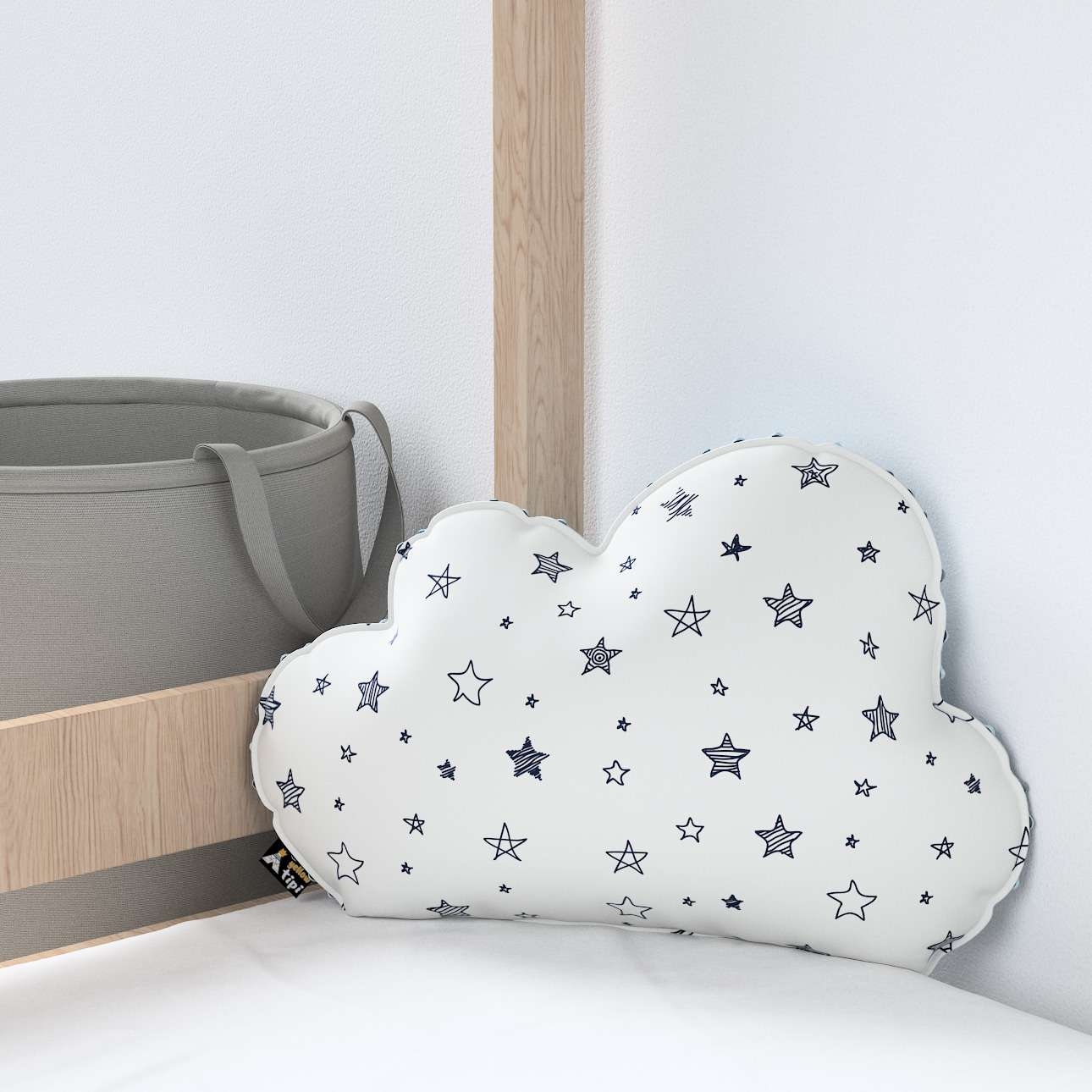 Soft Cloud pillow with minky in collection Magic Collection, fabric: 500-08