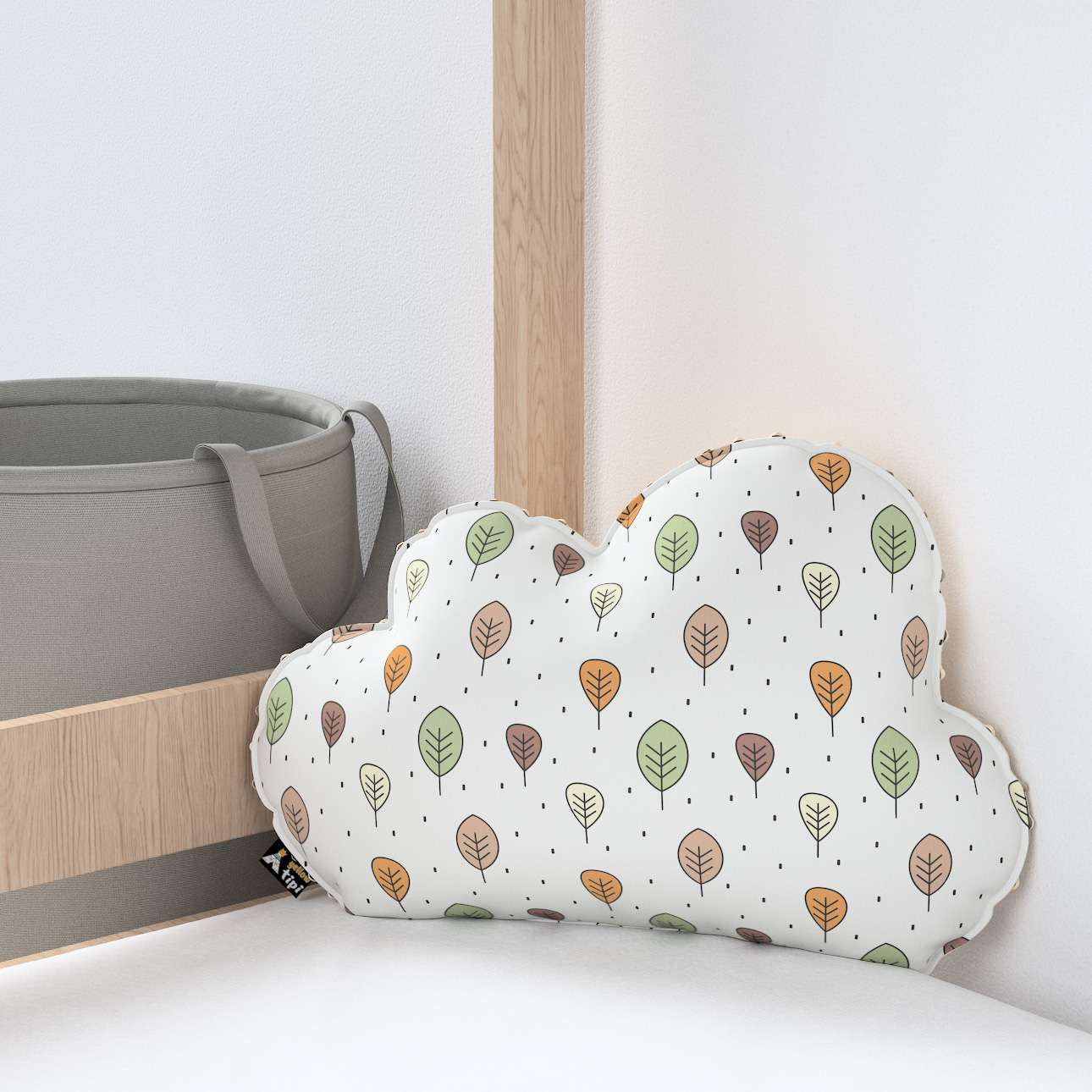 Soft Cloud pillow with minky in collection Magic Collection, fabric: 500-09