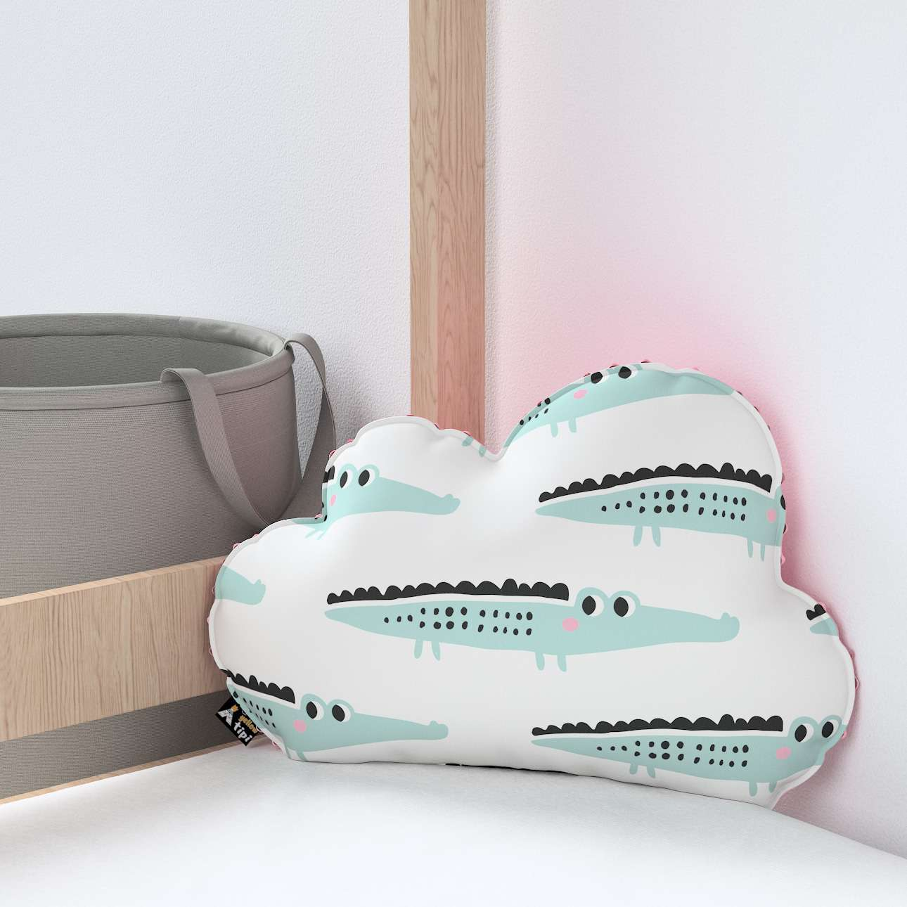 Soft Cloud pillow with minky in collection Magic Collection, fabric: 500-11