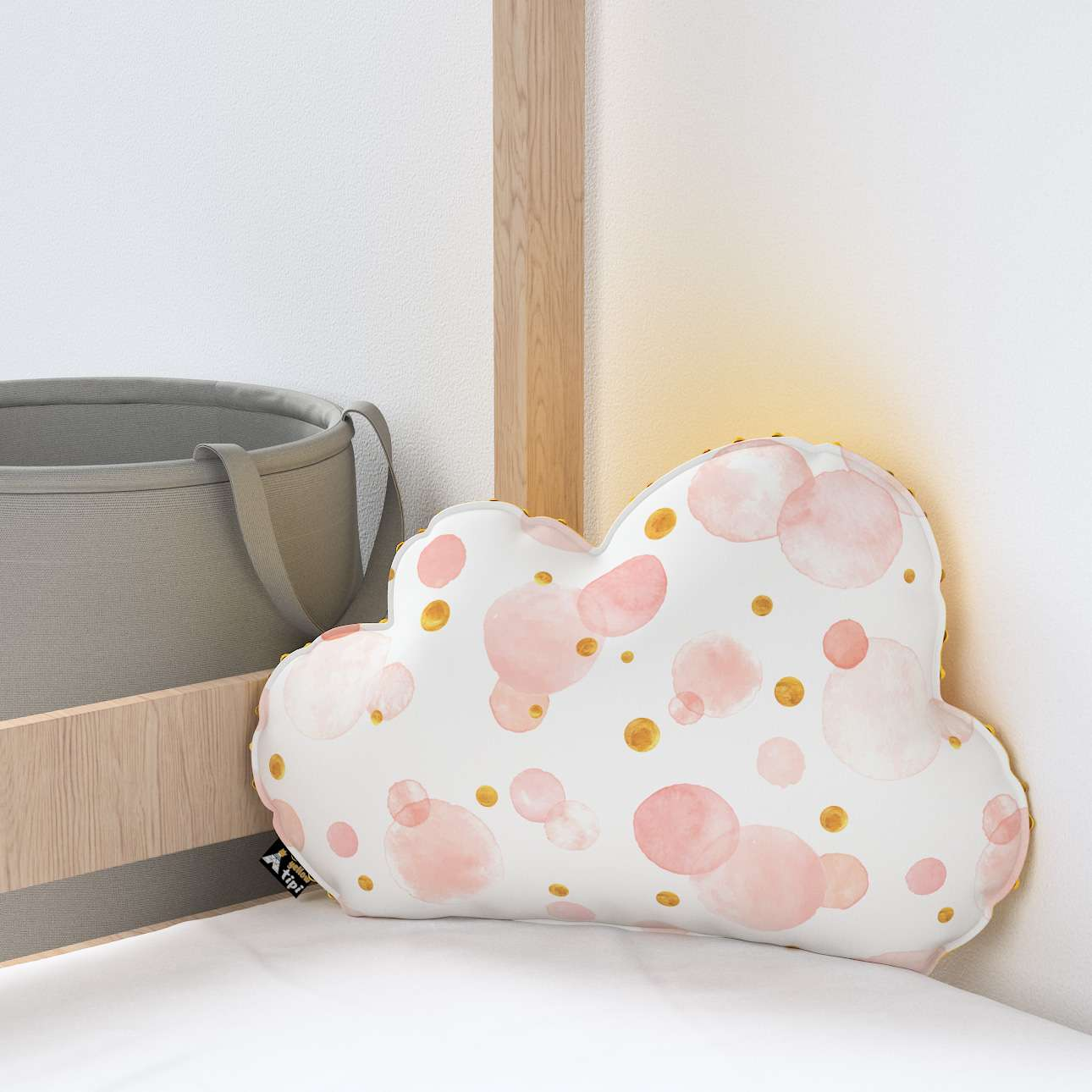 Soft Cloud pillow with minky in collection Magic Collection, fabric: 500-13