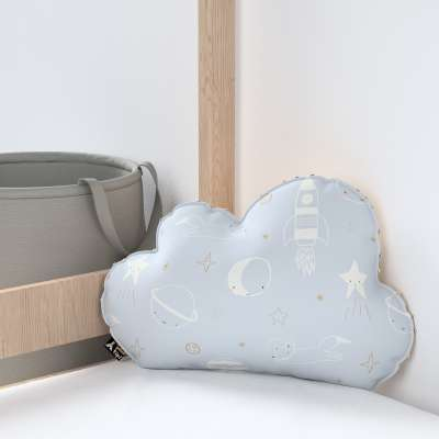 Soft Cloud pillow with minky in collection Magic Collection, fabric: 500-16