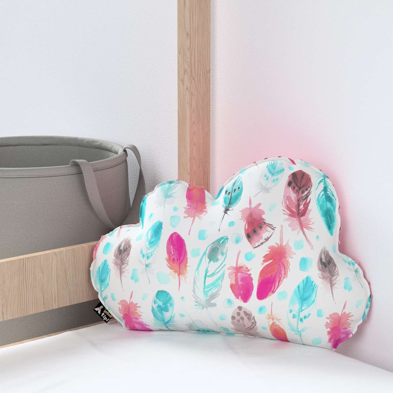 Soft Cloud pillow with minky in collection Magic Collection, fabric: 500-17