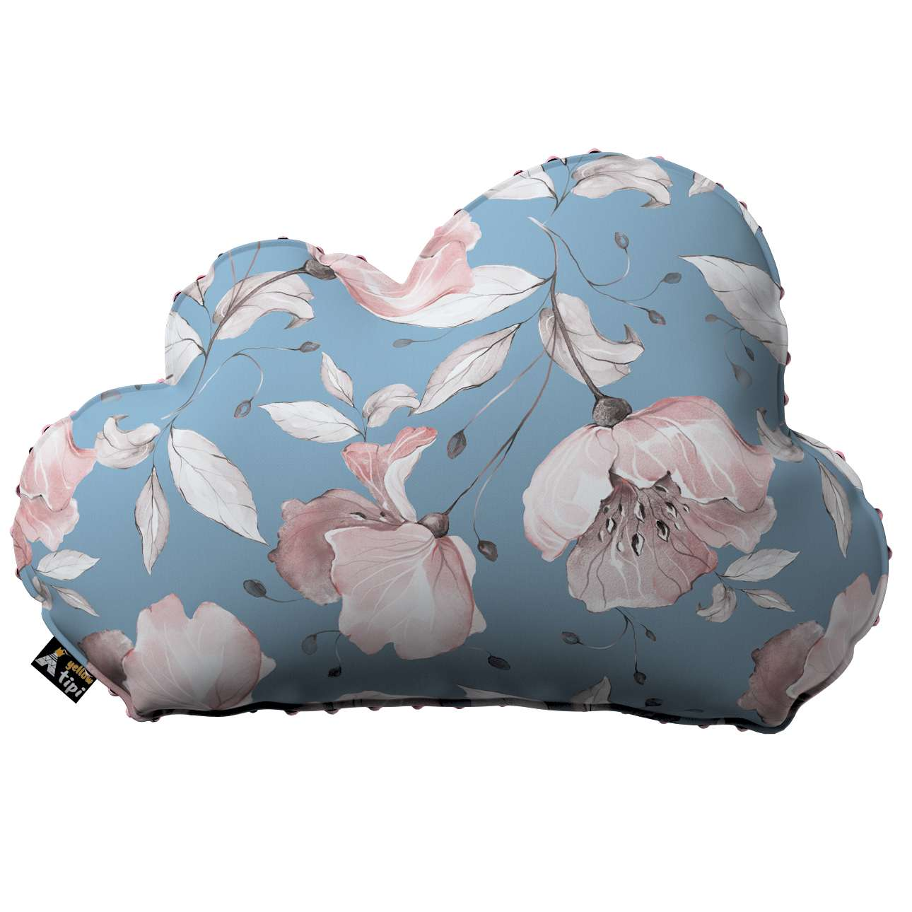 Kissen Soft Cloud aus Minky von der Kollektion Magic Collection, Stoff: 500-18