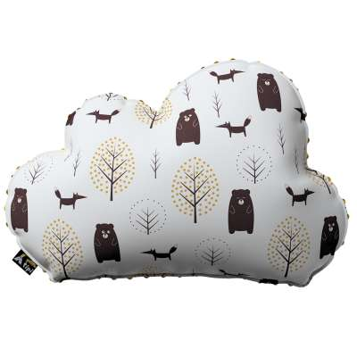 Soft Cloud pillow with minky in collection Magic Collection, fabric: 500-19