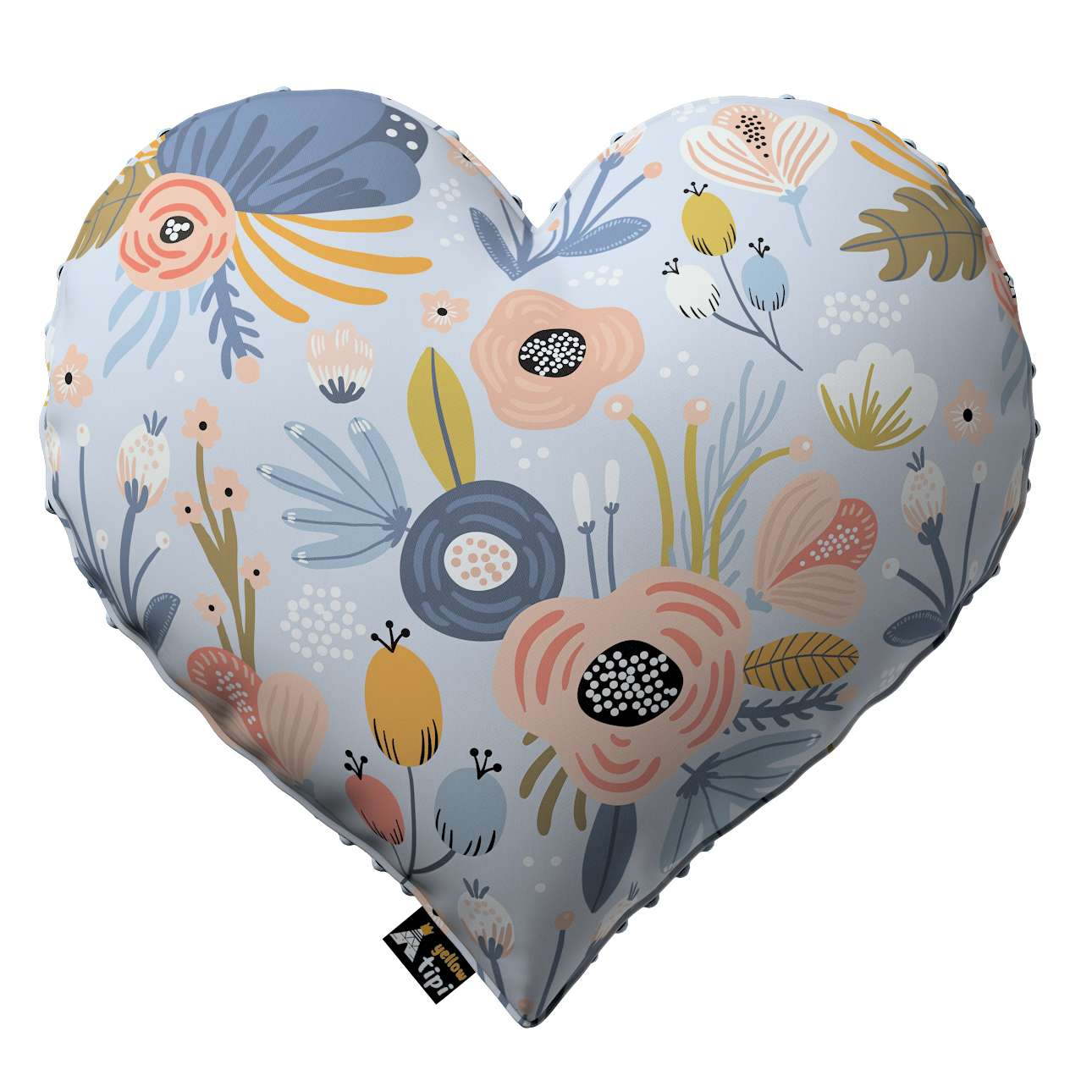 Heart of Love pillow with minky in collection Magic Collection, fabric: 500-05