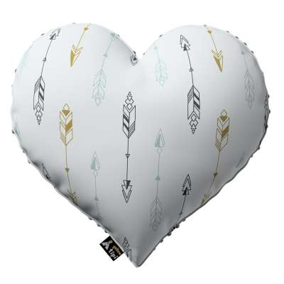 Heart of Love pillow with minky in collection Magic Collection, fabric: 500-07
