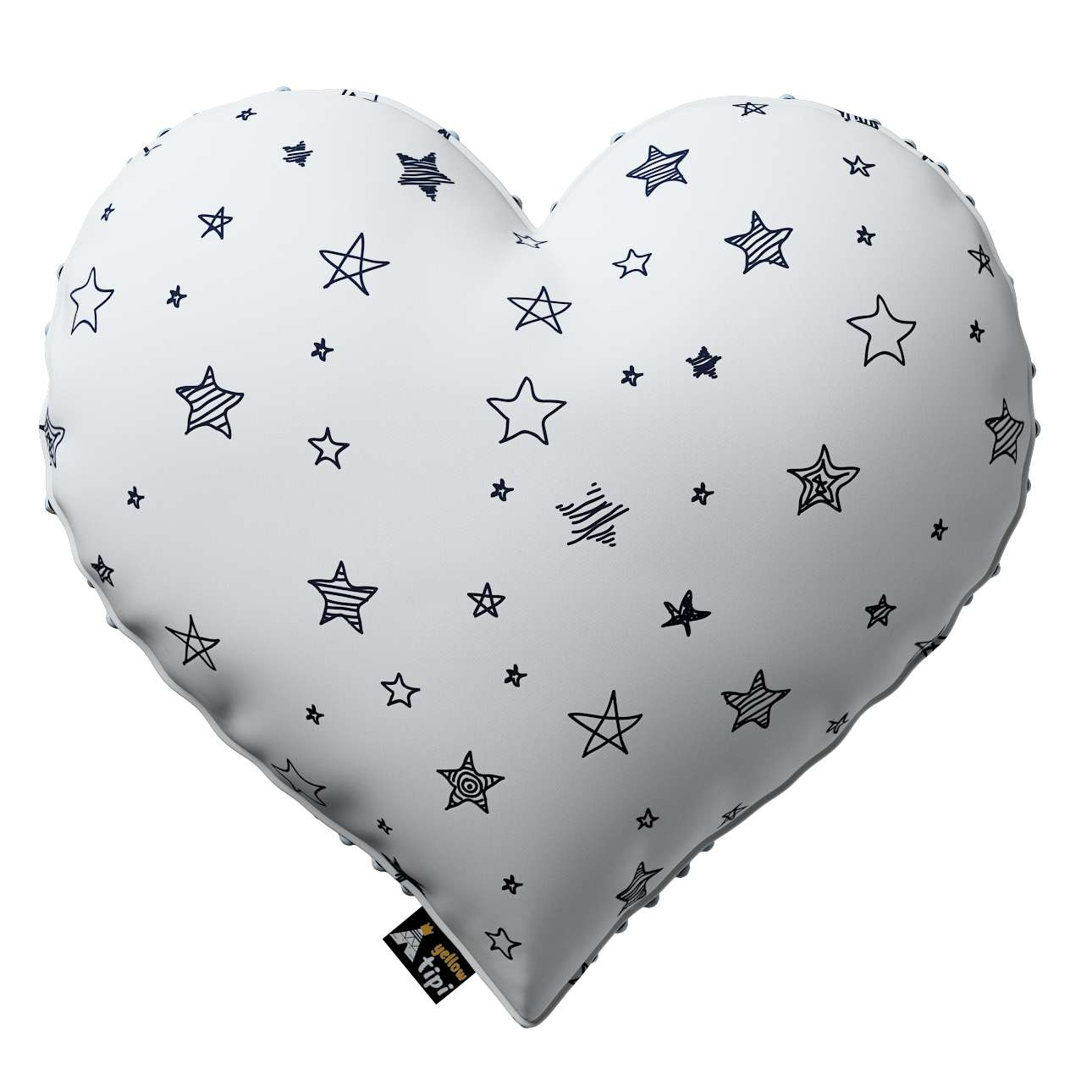 Heart of Love pillow with minky in collection Magic Collection, fabric: 500-08