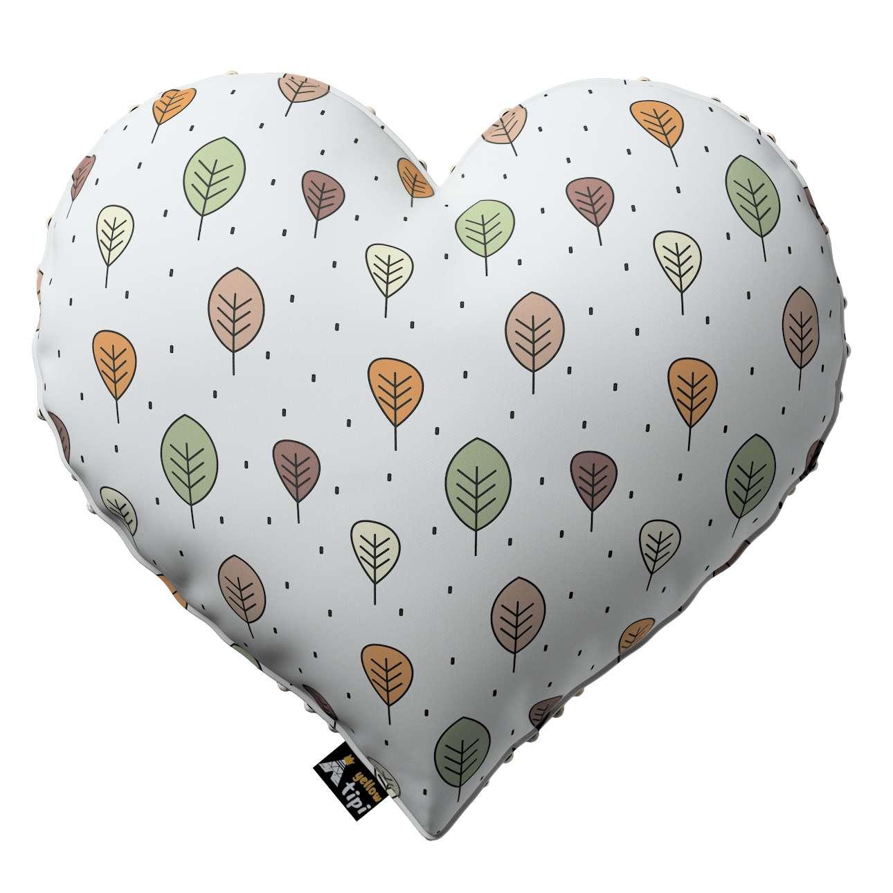 Kissen Heart of Love aus Minky von der Kollektion Magic Collection, Stoff: 500-09