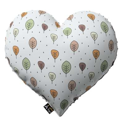 Heart of Love pillow with minky in collection Magic Collection, fabric: 500-09