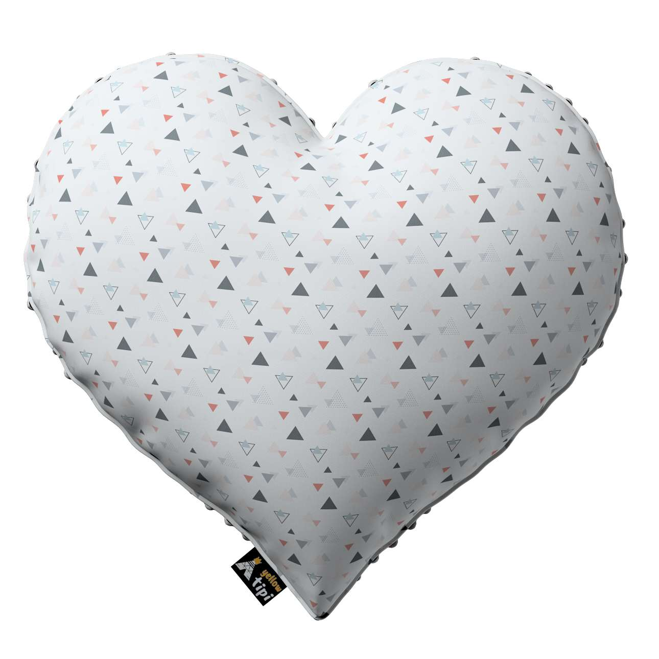 Heart of Love pillow with minky in collection Magic Collection, fabric: 500-22