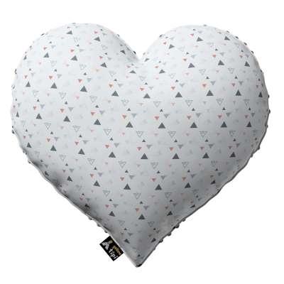 Kissen Heart of Love aus Minky von der Kollektion Magic Collection, Stoff: 500-22