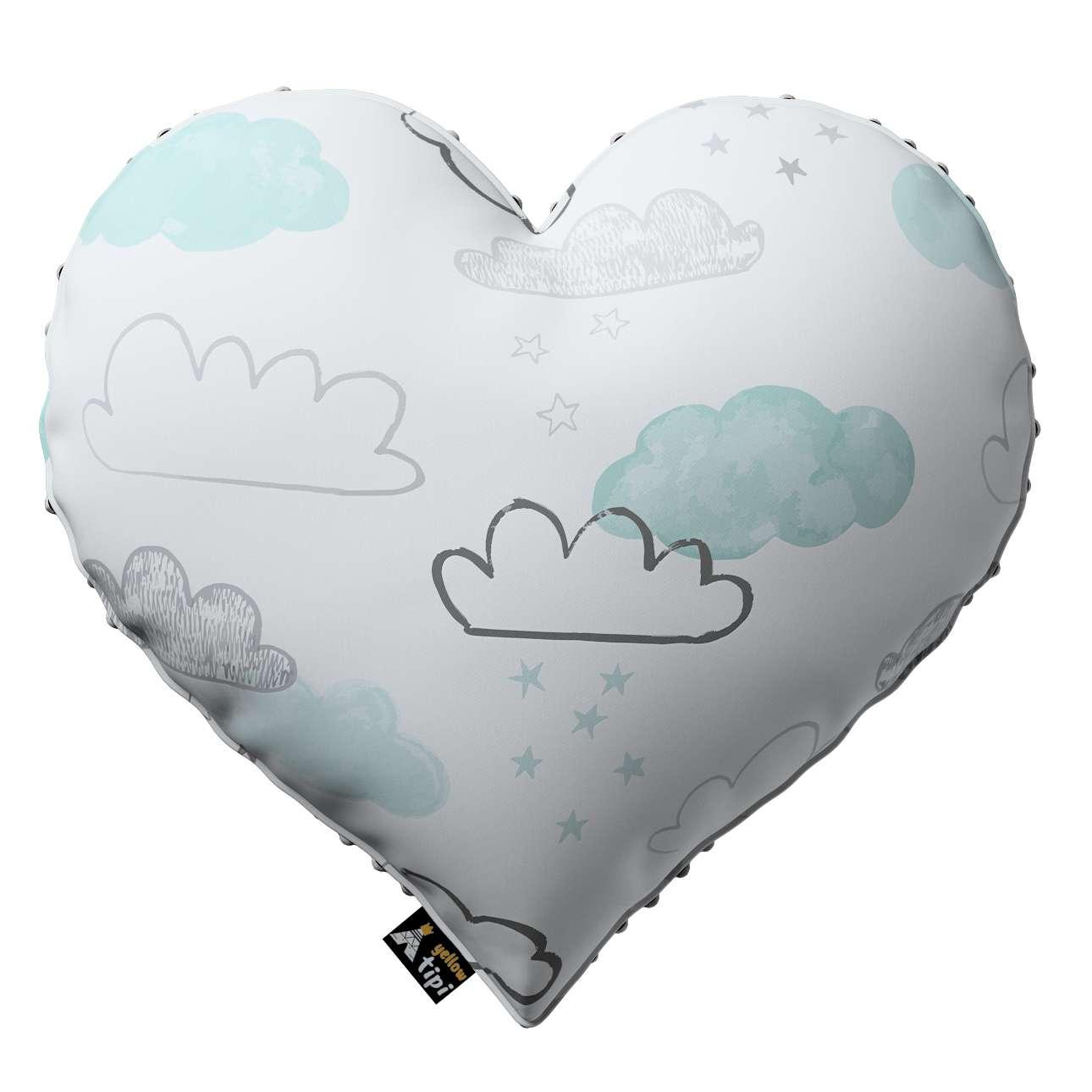 Kissen Heart of Love aus Minky von der Kollektion Magic Collection, Stoff: 500-14