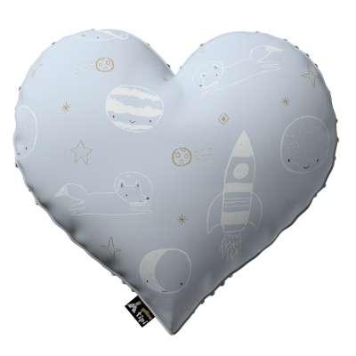 Kissen Heart of Love aus Minky von der Kollektion Magic Collection, Stoff: 500-16