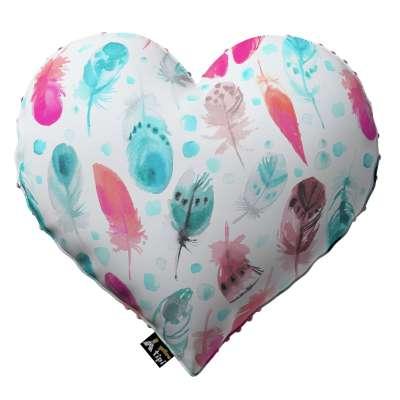 Kissen Heart of Love aus Minky von der Kollektion Magic Collection, Stoff: 500-17