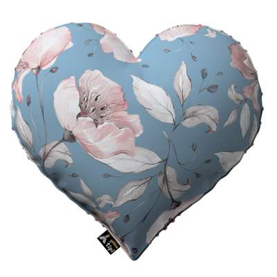 Kissen Heart of Love aus Minky von der Kollektion Magic Collection, Stoff: 500-18