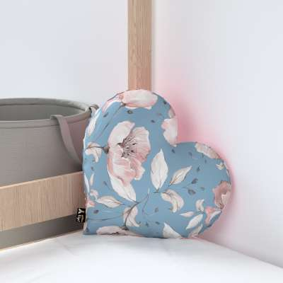Heart of Love pillow with minky in collection Magic Collection, fabric: 500-18