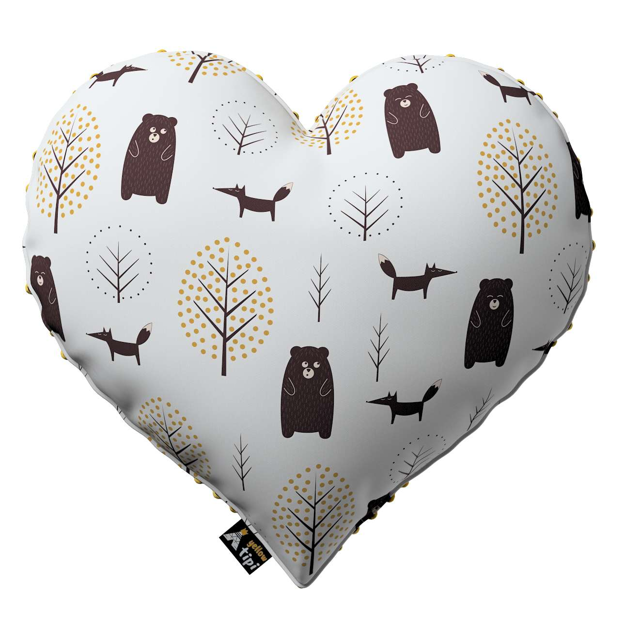 Kissen Heart of Love aus Minky von der Kollektion Magic Collection, Stoff: 500-19