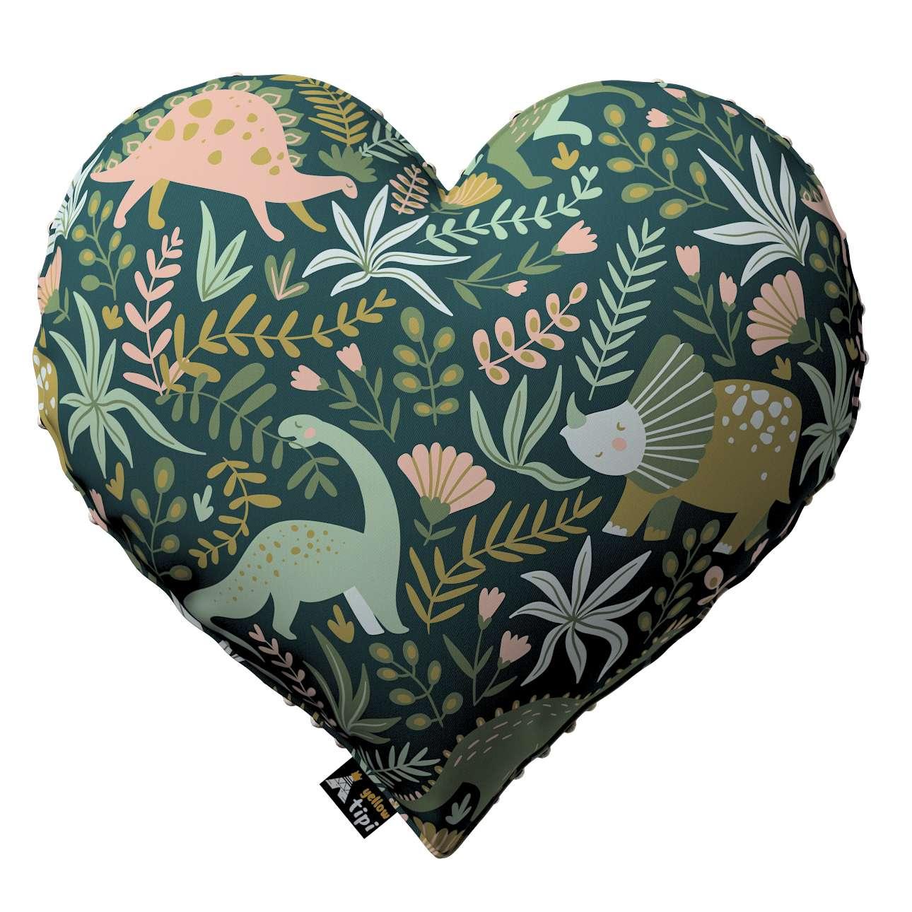 Kissen Heart of Love aus Minky von der Kollektion Magic Collection, Stoff: 500-20