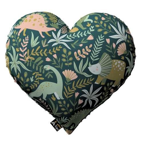 Polštář Heart of Love z minky