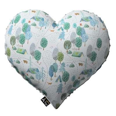 Kissen Heart of Love aus Minky von der Kollektion Magic Collection, Stoff: 500-21