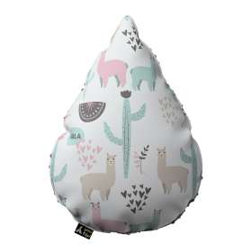 Sweet Drop pillow with minky