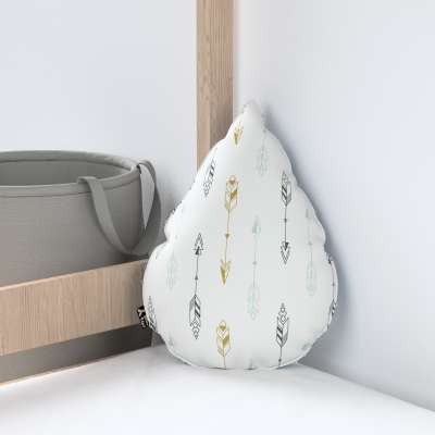 Sweet Drop pillow with minky in collection Magic Collection, fabric: 500-07