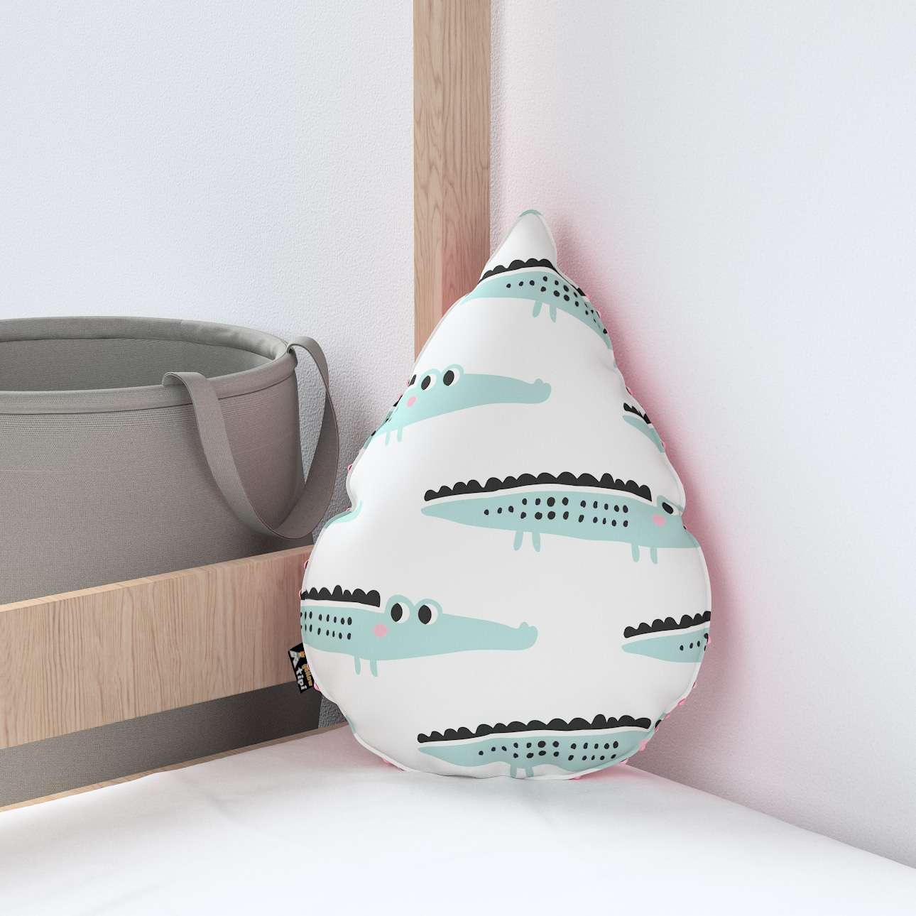 Sweet Drop pillow with minky in collection Magic Collection, fabric: 500-11