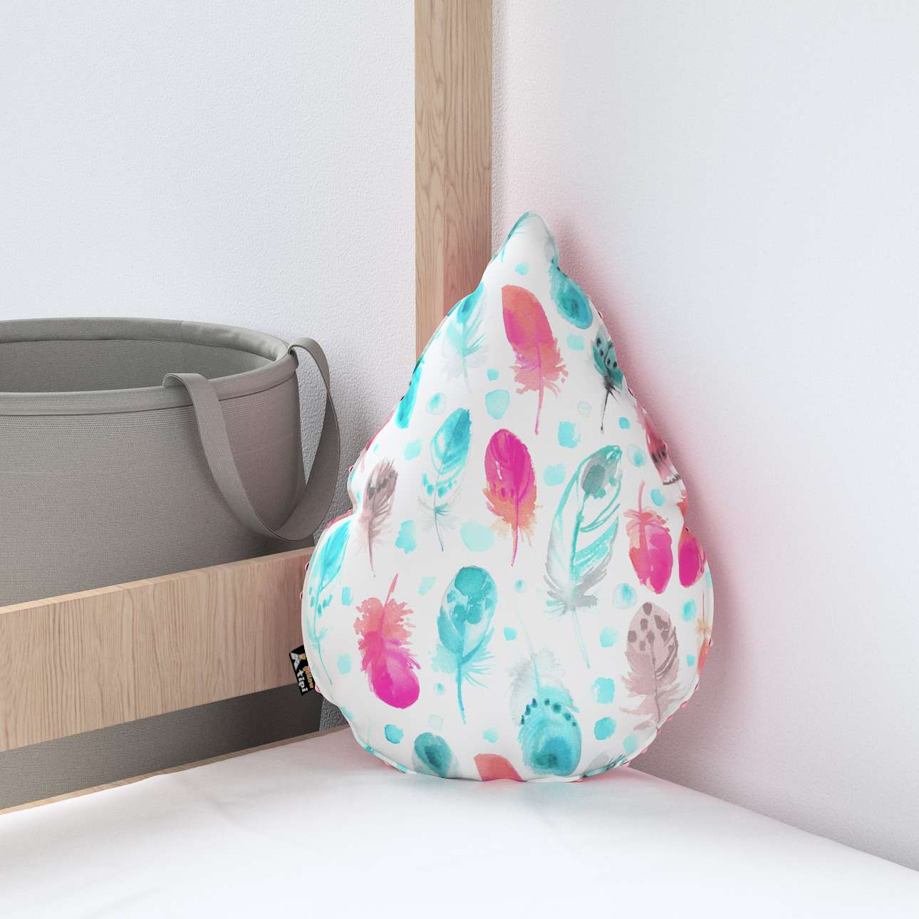 Sweet Drop pillow with minky in collection Magic Collection, fabric: 500-17