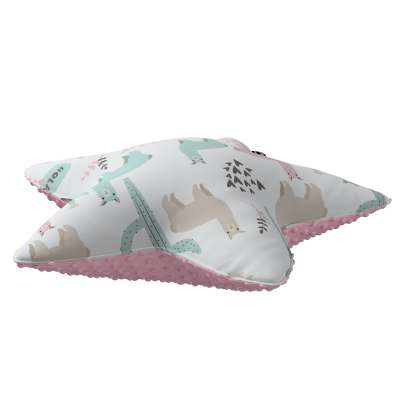 Lucky Star pillow with minky in collection Magic Collection, fabric: 500-01