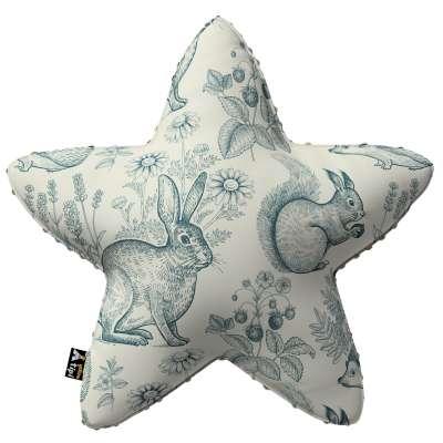 Kissen Lucky Star aus Minky von der Kollektion Magic Collection, Stoff: 500-04