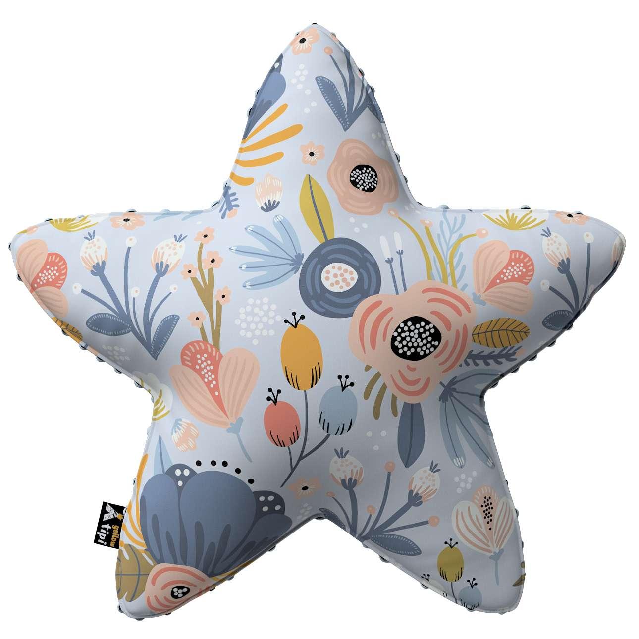 Kissen Lucky Star aus Minky von der Kollektion Magic Collection, Stoff: 500-05