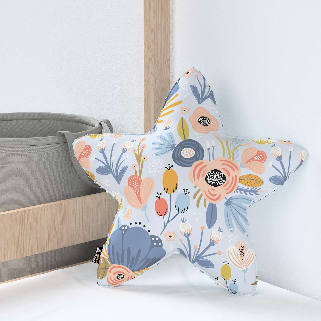 Lucky Star pillow with minky in collection Magic Collection, fabric: 500-05