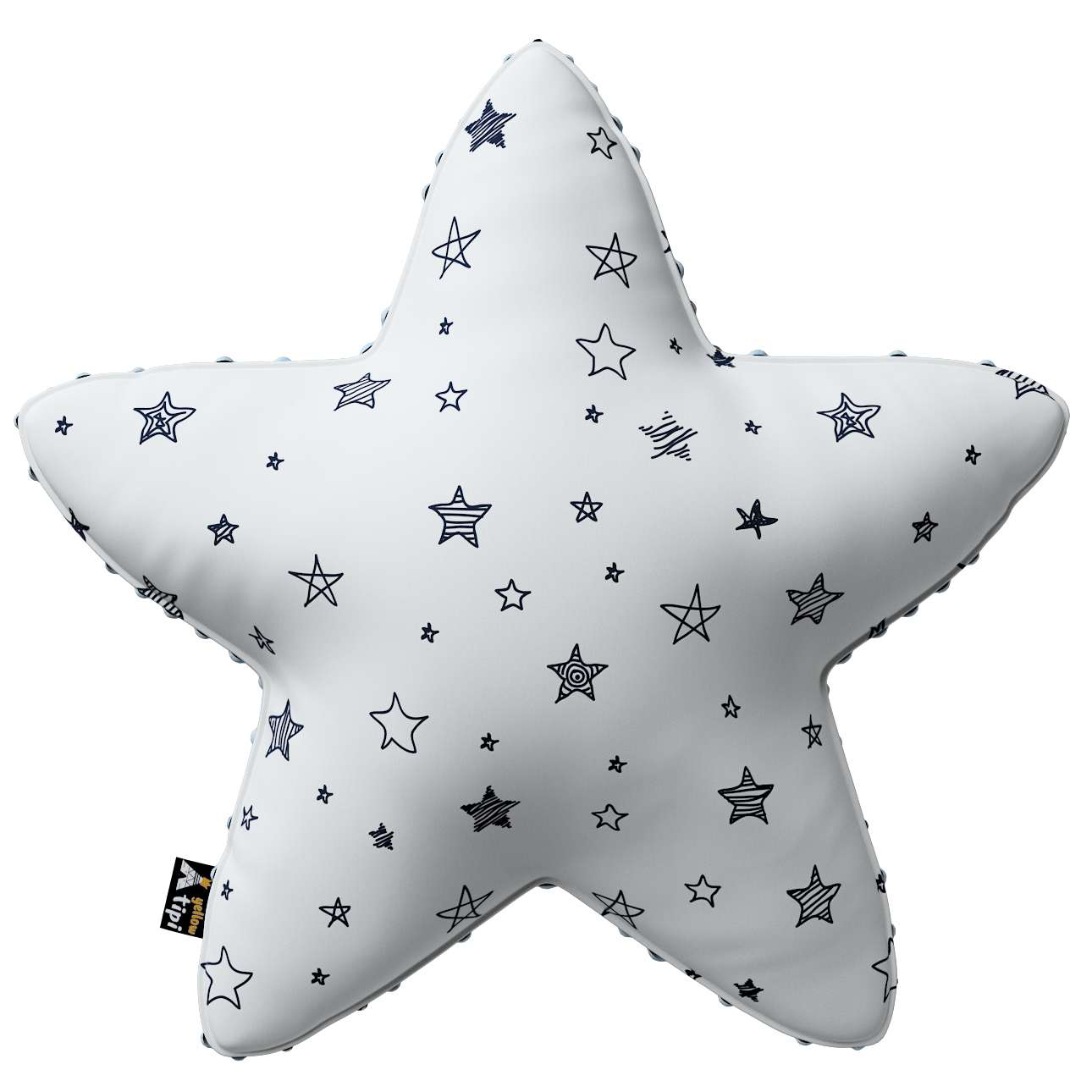 Lucky Star pillow with minky in collection Magic Collection, fabric: 500-08