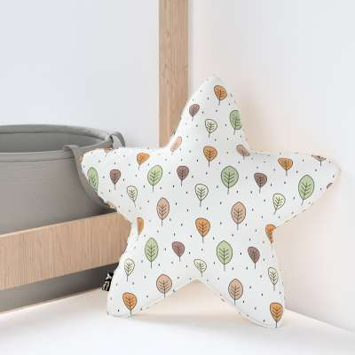 Kissen Lucky Star aus Minky von der Kollektion Magic Collection, Stoff: 500-09