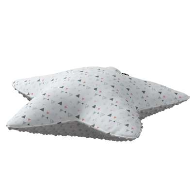Lucky Star pillow with minky in collection Magic Collection, fabric: 500-22