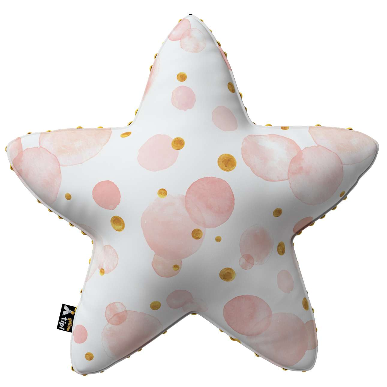Lucky Star pillow with minky in collection Magic Collection, fabric: 500-13