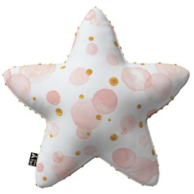 Poduszka Lucky Star z minky 500-13  Kolekcja Magic Collection