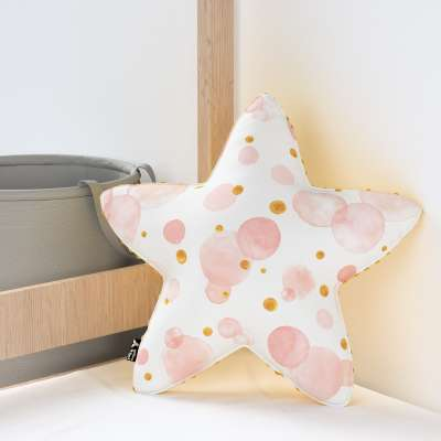 Kissen Lucky Star aus Minky von der Kollektion Magic Collection, Stoff: 500-13
