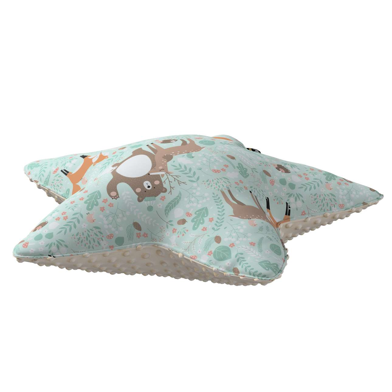 Lucky Star pillow with minky in collection Magic Collection, fabric: 500-15