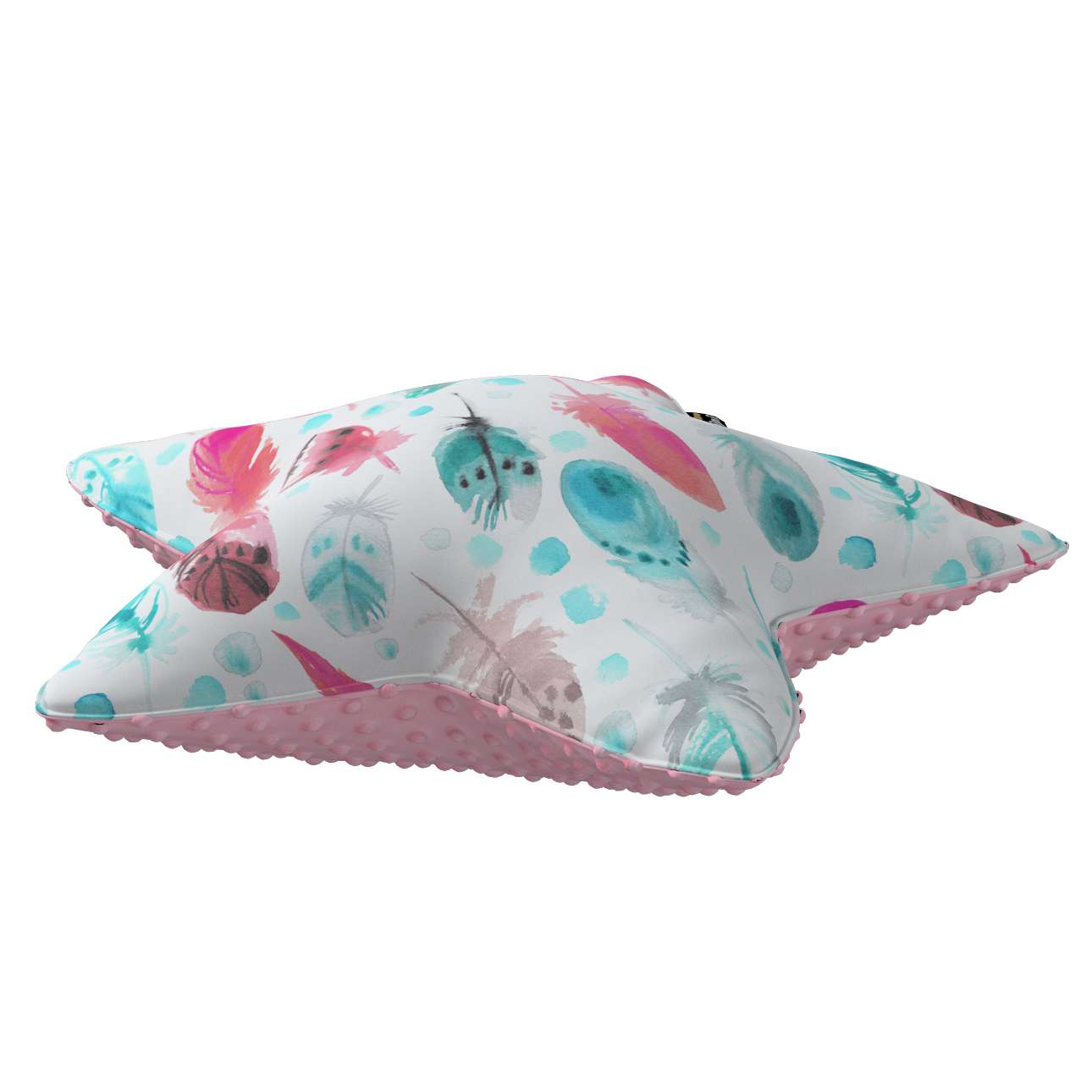 Lucky Star pillow with minky in collection Magic Collection, fabric: 500-17
