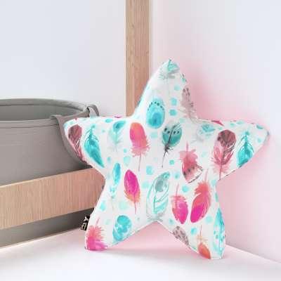 Kissen Lucky Star aus Minky von der Kollektion Magic Collection, Stoff: 500-17