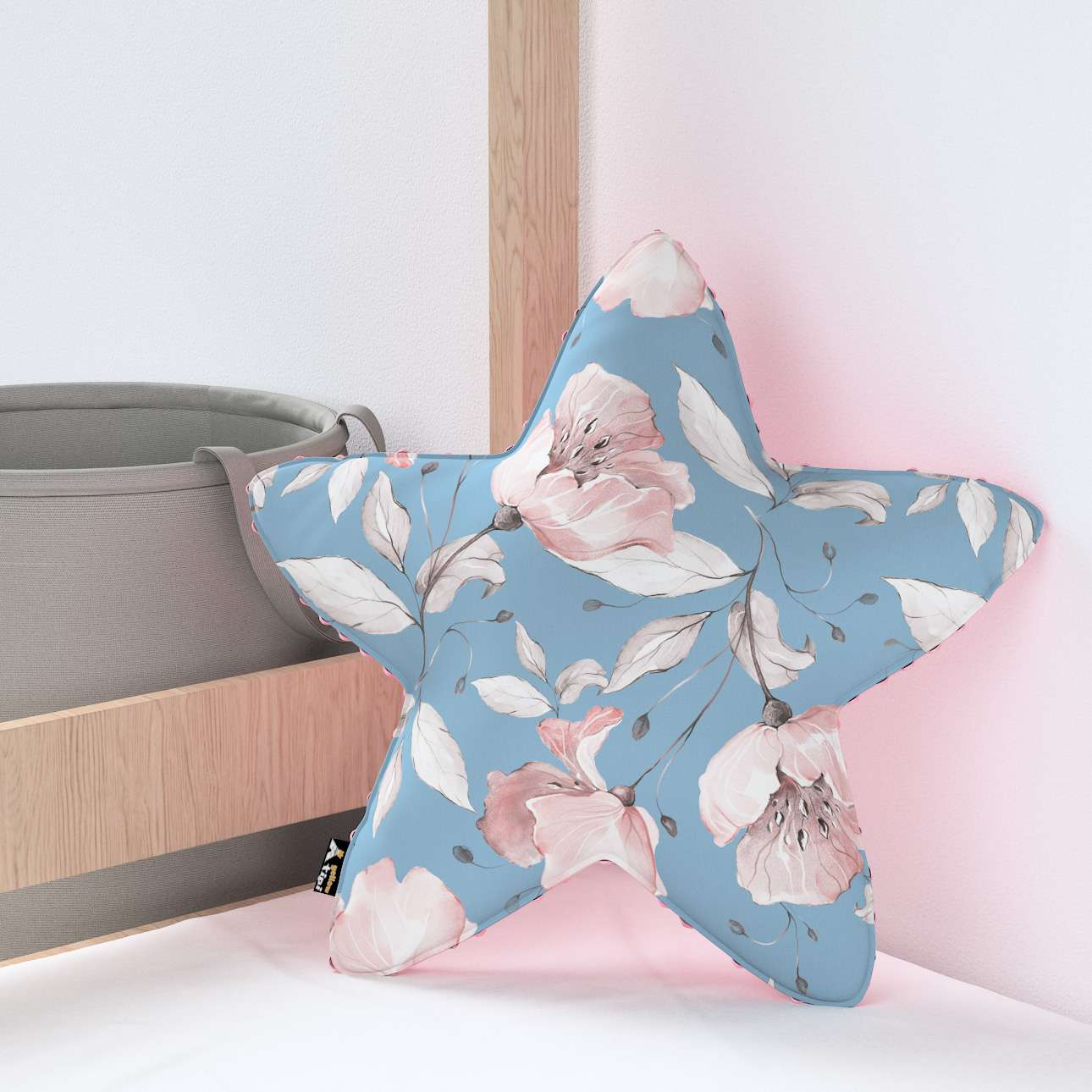 Lucky Star pillow with minky in collection Magic Collection, fabric: 500-18