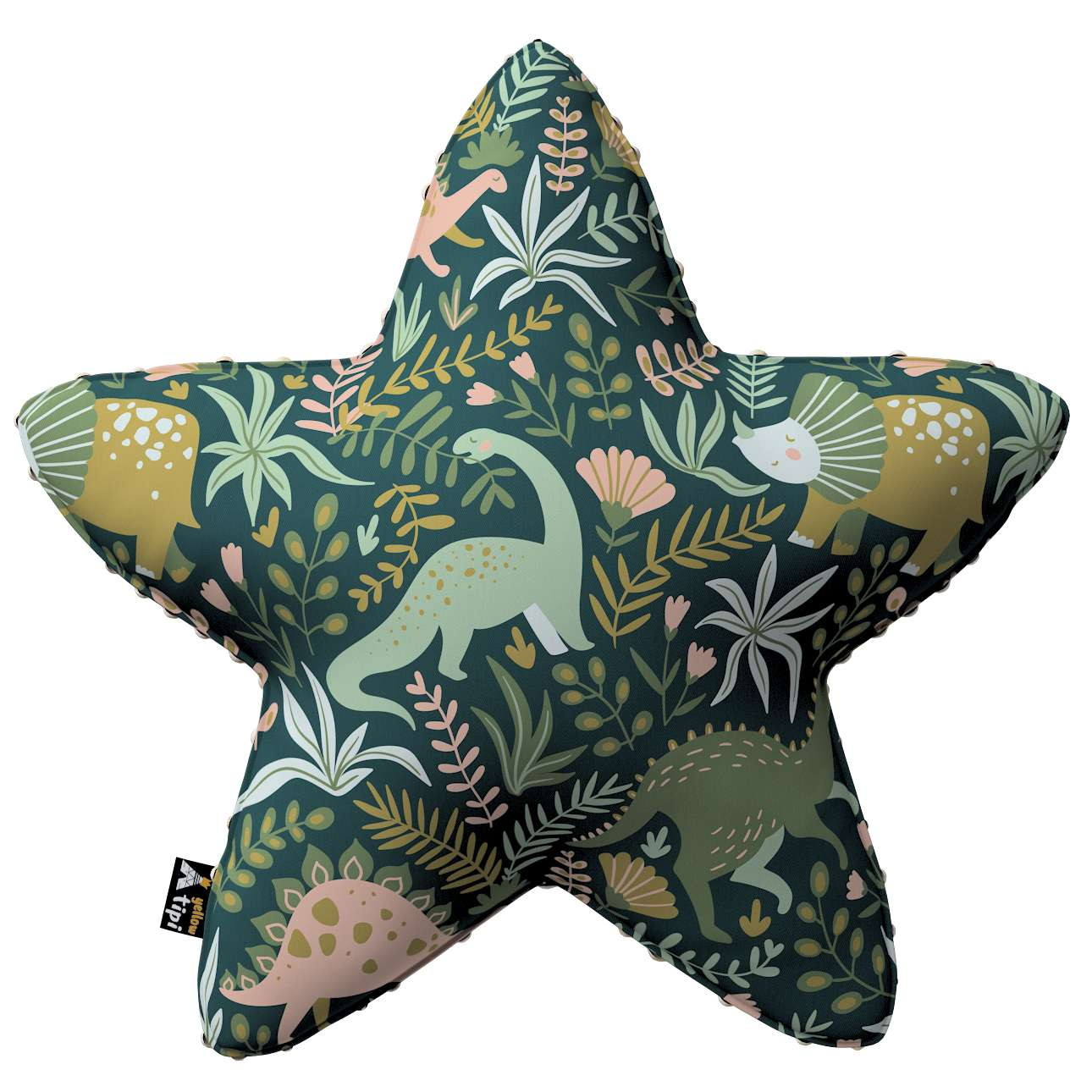 Kissen Lucky Star aus Minky von der Kollektion Magic Collection, Stoff: 500-20