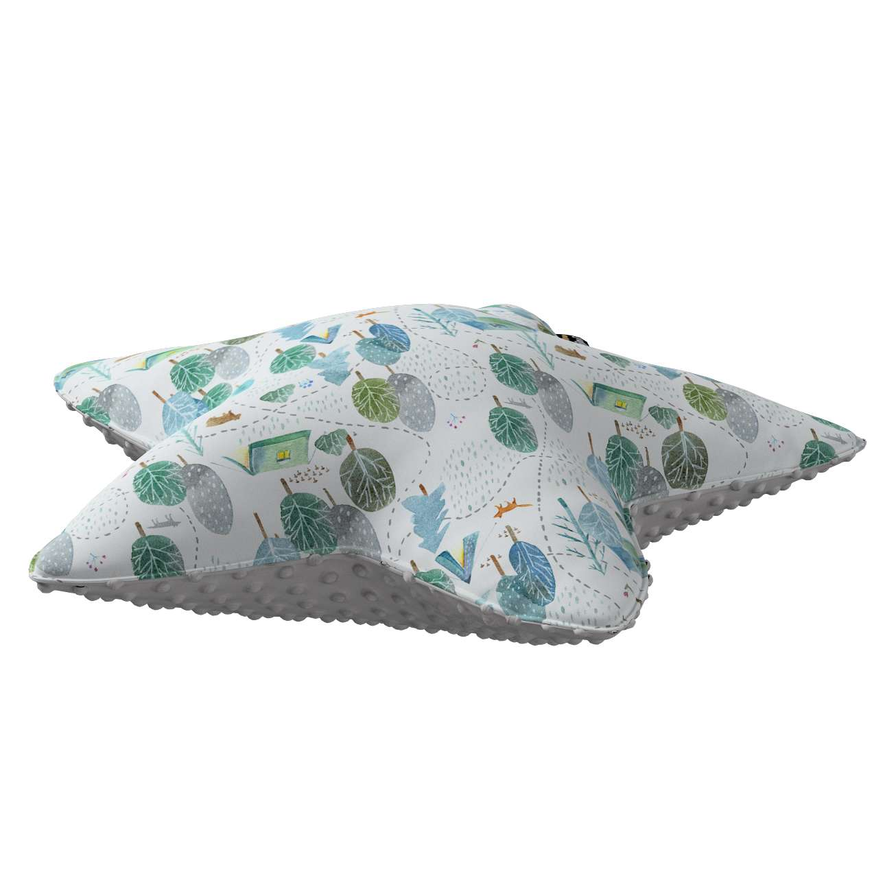 Lucky Star pillow with minky in collection Magic Collection, fabric: 500-21